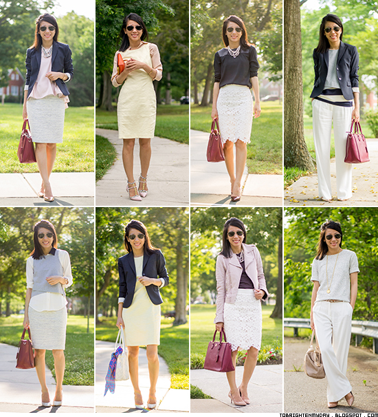 spring / summer business casual work outfits