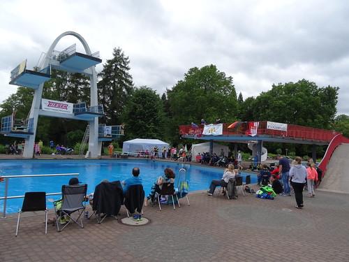 High Diving Tournament in Bad Godesberg (Bonn)