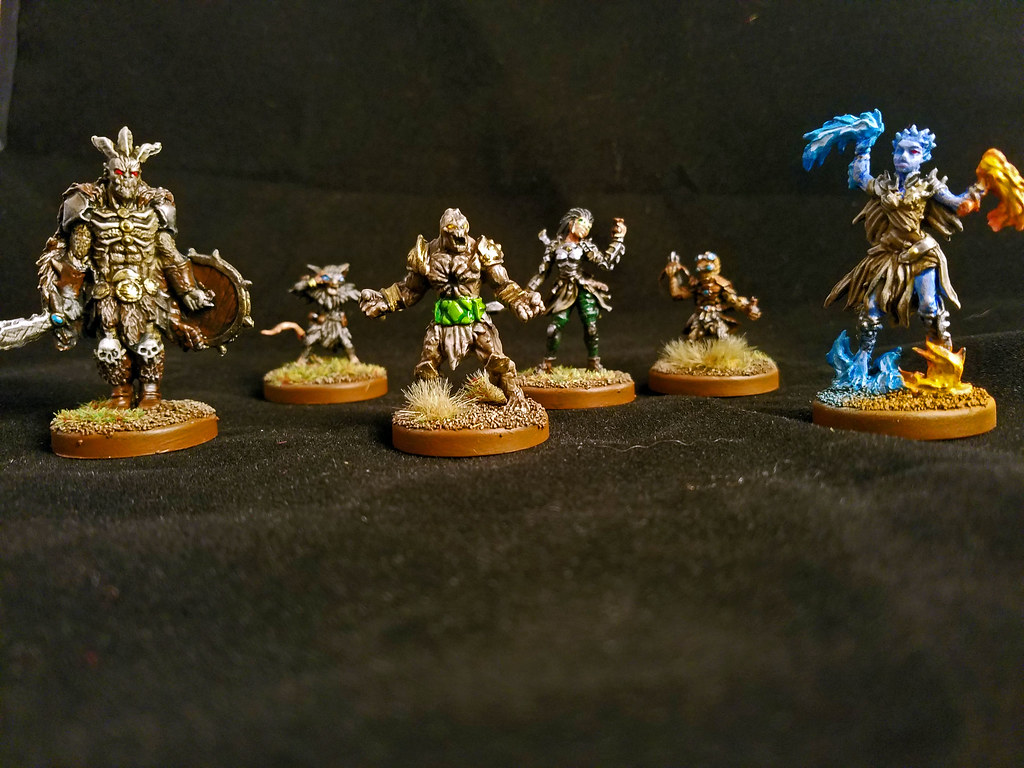 Gloomhaven Starting Characters | Initial six characters ...