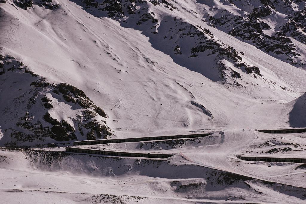 Pistas Ski Argentina Pista de Ski Portillo