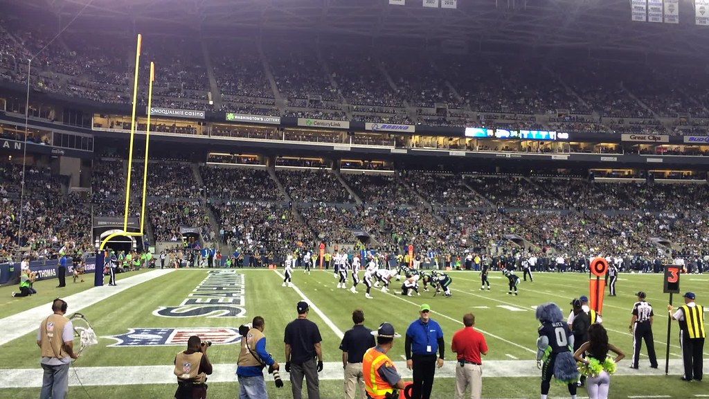 Seattle Seahawks Pre Season Game Against The San Diego Cha