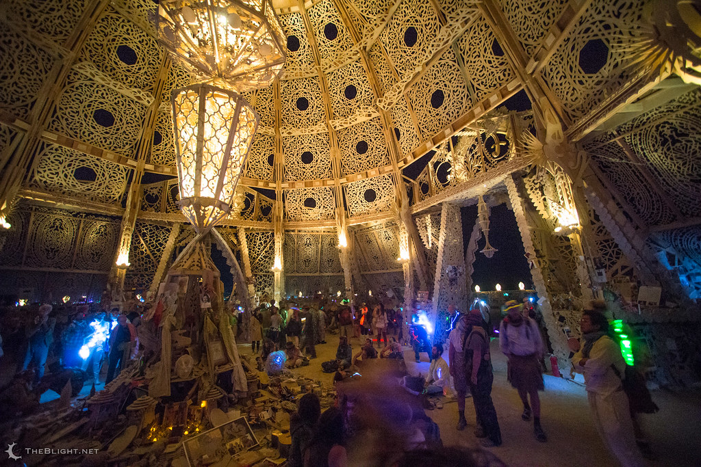 The Temple Of Grace Burning Man 2014 Neil Girling Flickr