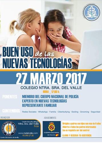 AionSur 32807976153_3a847a87f1_d El buen uso de las nuevas tecnologías, tema de un coloquio de la Policía Nacional en un colegio de Écija Ecija Provincia