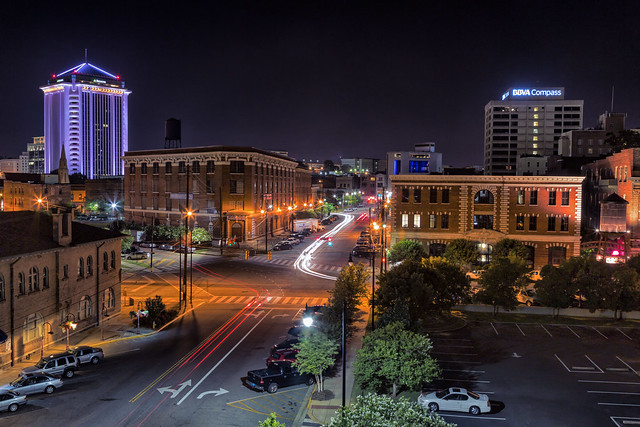 Downtown Montgomery Alabama At Night Flickr Photo Sharing