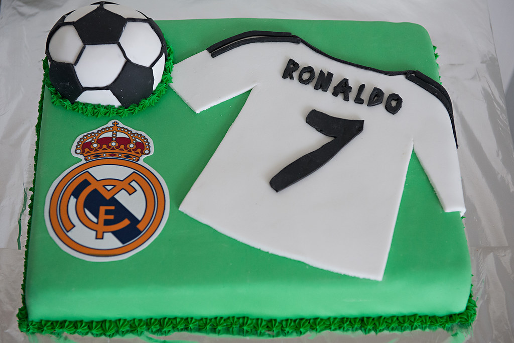 Boys Birthday Cake Real Madrid Ronaldo Cake Nicole