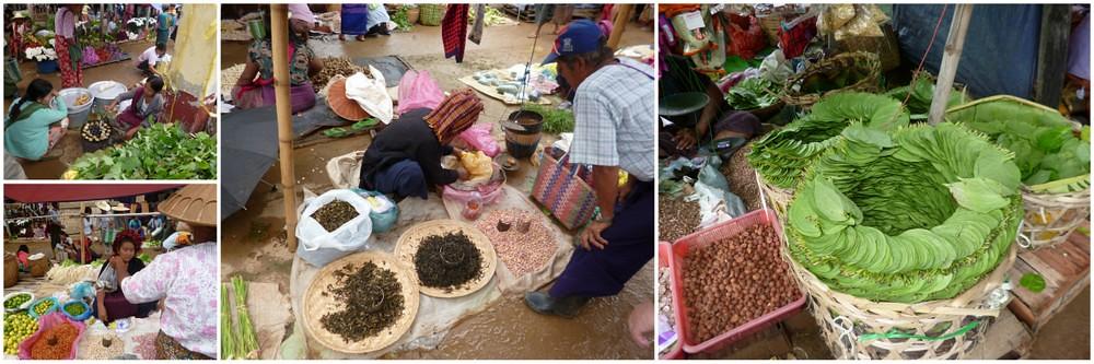 Market near Phaung Daw Oo Paya