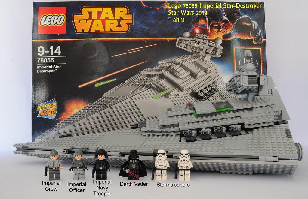 Star wars lego 75055 imperial star destroyer star wars leg flickr - Croiseur interstellaire star wars lego ...