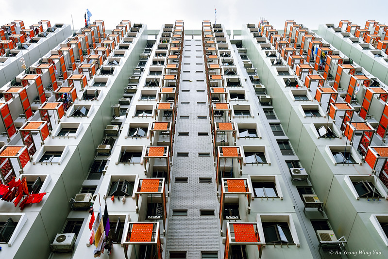 Old Beauty (Colourful Singapore Residential Block)
