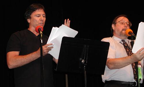 Brad Strickland and Richard Hatch
