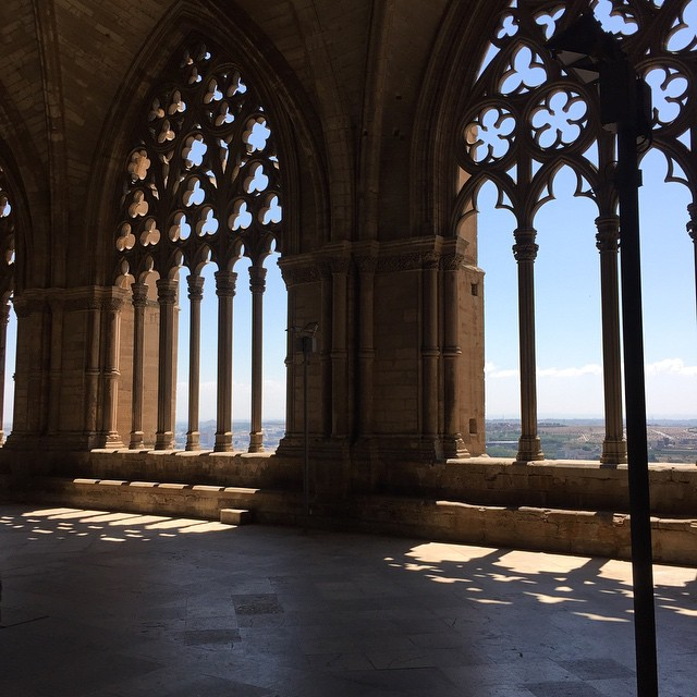Seu Vella in Lleida #lleida #seuvella #cathedral #gothic #cloister #landscape
