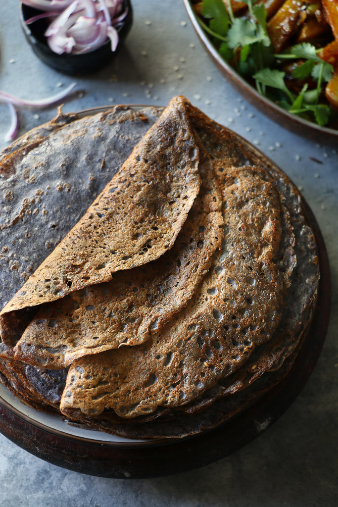 Black Bean Dosa/Crepe |foodfashionparty| #indianfood