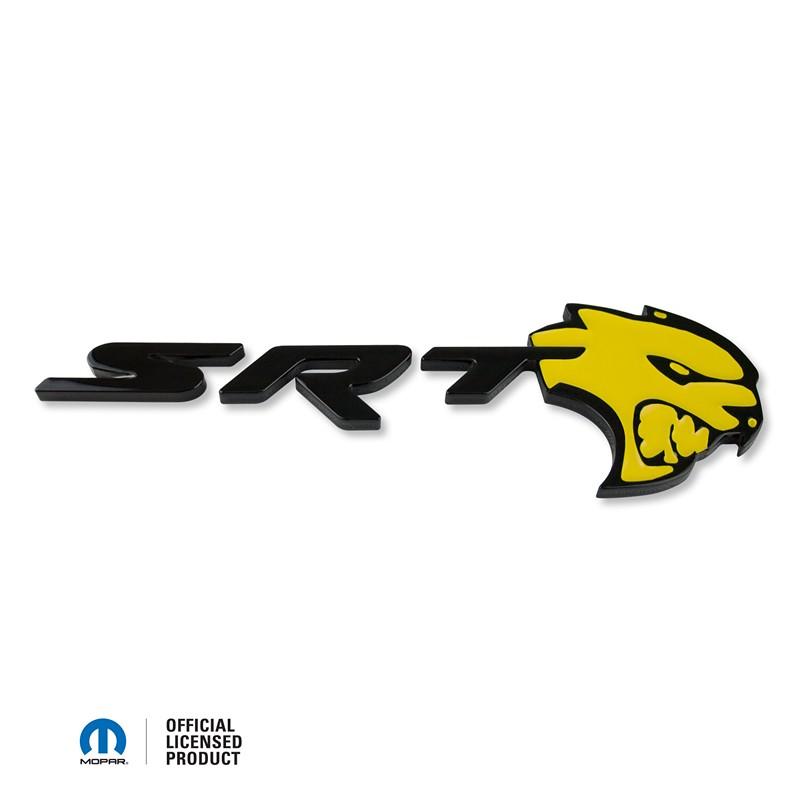 SRT Hellcat Trunk Badge 2015-2017 Challenger/Charger SRT Hellcat ...