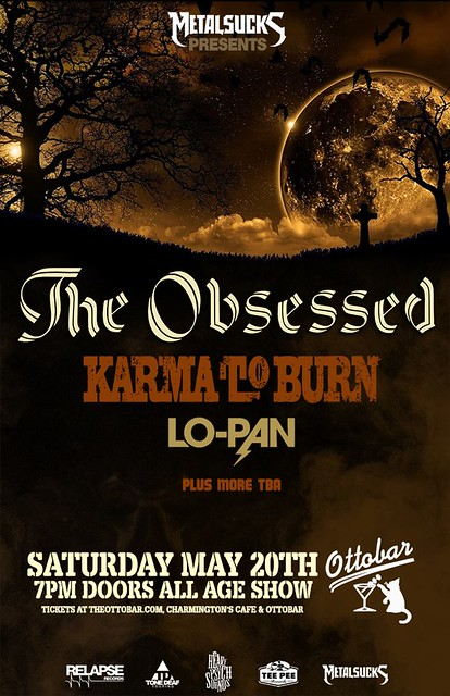 The Obsessed at the Ottobar