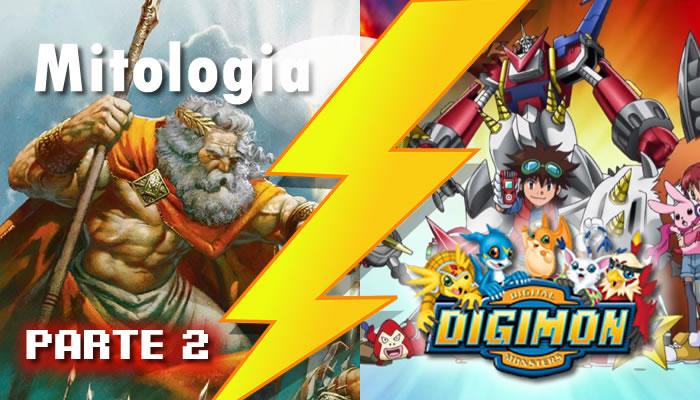 mitologia em digimon 2