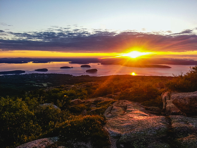 sunrise cadillac mountain acadia national park flickr photo. Cars Review. Best American Auto & Cars Review