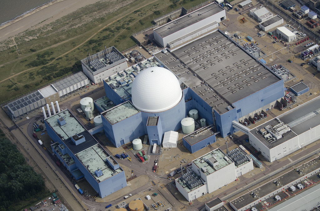 Sizewell Nuclear Power Station Aerial Lectricit Flickr