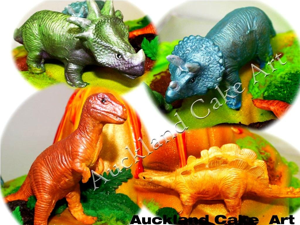 Dinosaur Edible Cake Images Nz : DINOSAURS FIGURES DINOSAUR FIGURES all handmade and ...