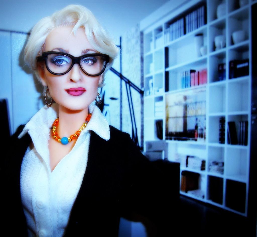 Meryl Streep The Devil wears Prada doll by Cyguy dolls ...