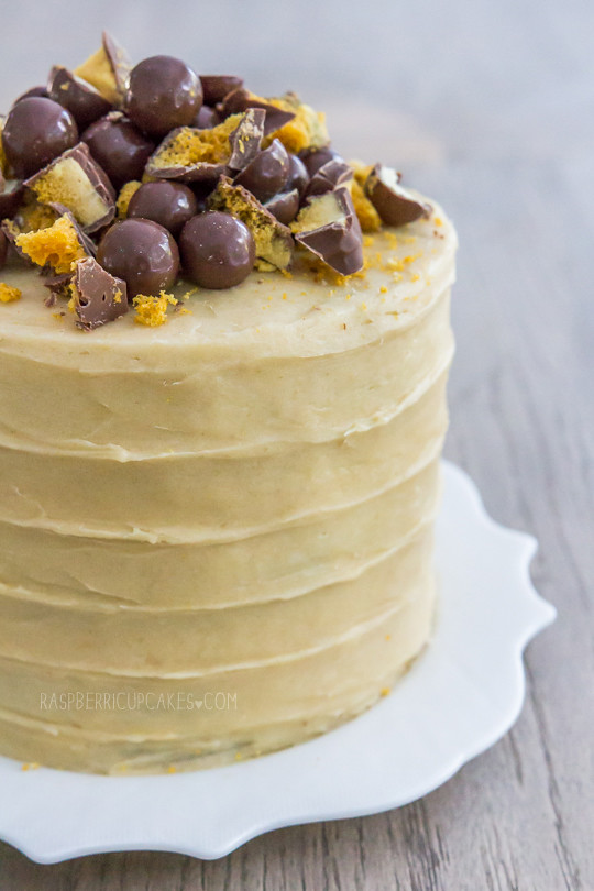 Maltesers And Chocolate Fingers Cake Recipe