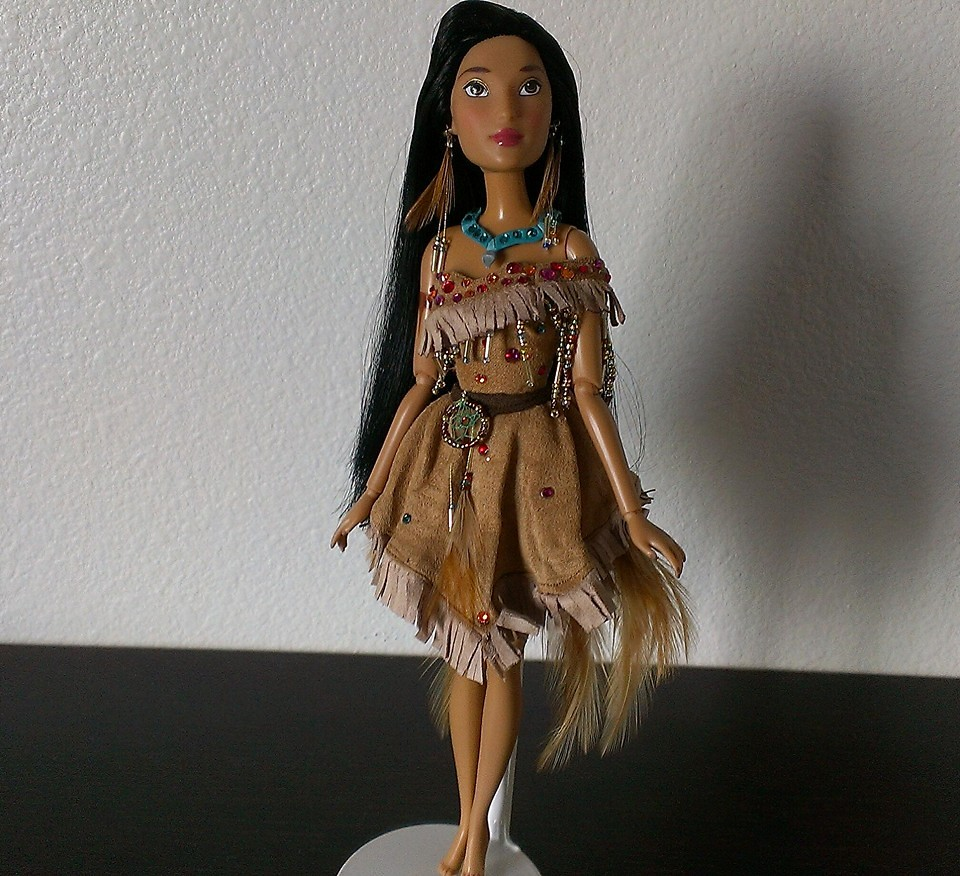 Pocahontas Disney Princess Doll Custom Disney Store Po...
