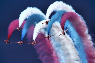 Red Arrows - RIAT 2014