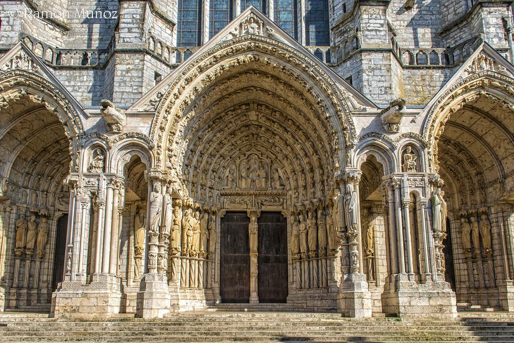 Dsc8288 p rtico del transepto norte 1205 20 de la catedr for Disegni del portico laterale