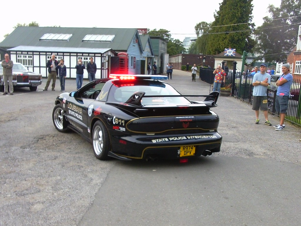 1997 Pontiac Firebird Trans Am Dare Police Car