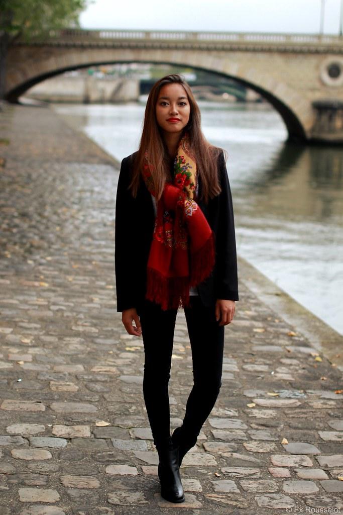 Street Style Lookbook Comtesse Sofia Scarf Designer Paris Flickr