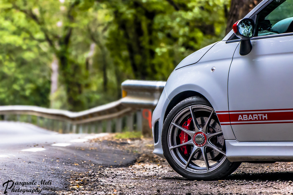 500 Abarth Oz Formula Hlt My Ride With The New Shoes