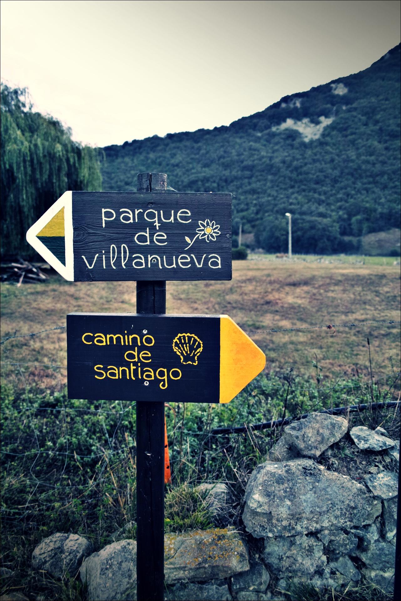 이정표-'카미노 데 산티아고 북쪽길. 리엔도에서 산토냐. (Camino del Norte - Liendo to Santoña) '