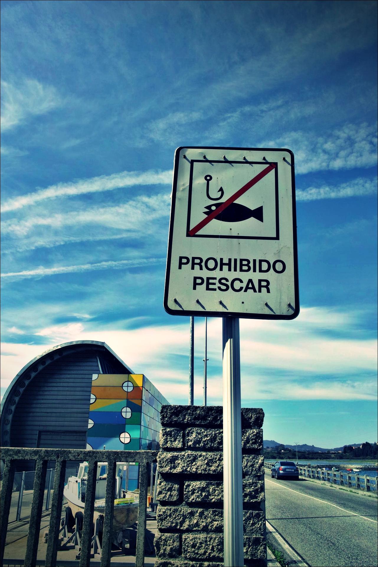 낚시 금지-'카미노 데 산티아고 북쪽길. 리엔도에서 산토냐. (Camino del Norte - Liendo to Santoña) '