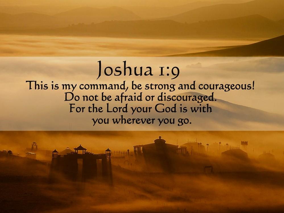 Joshua 1 9 Kjv