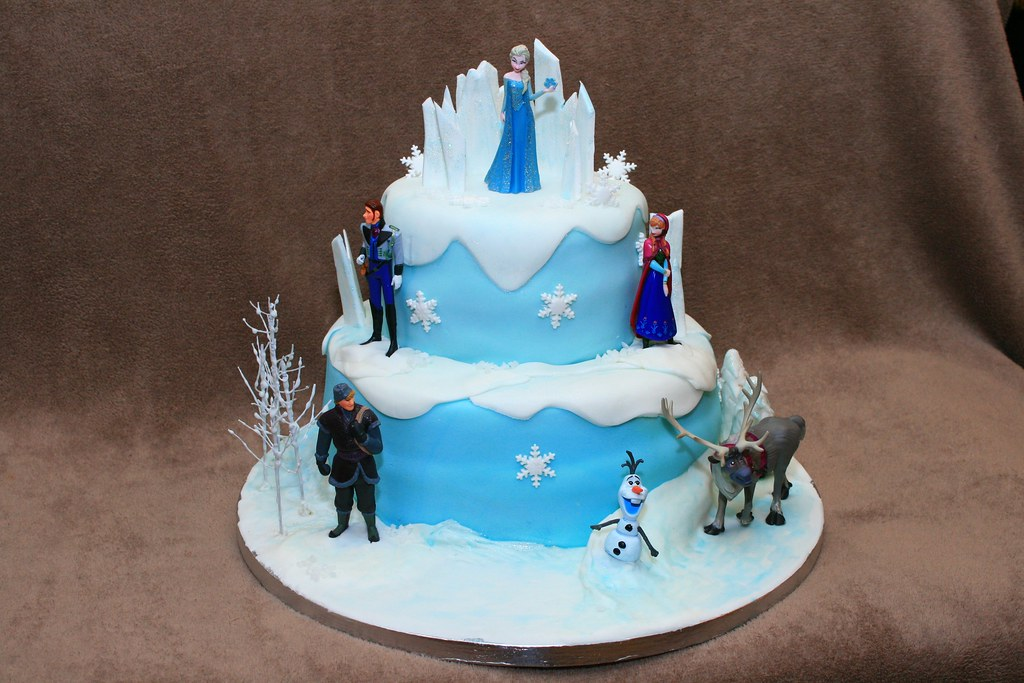 Frozen Cake White Box