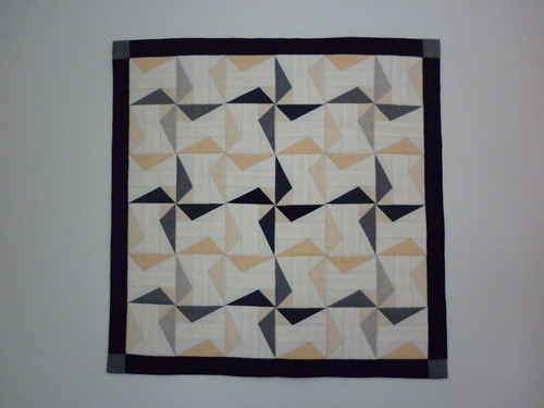 City Walk - a block roll-cum-little quilt
