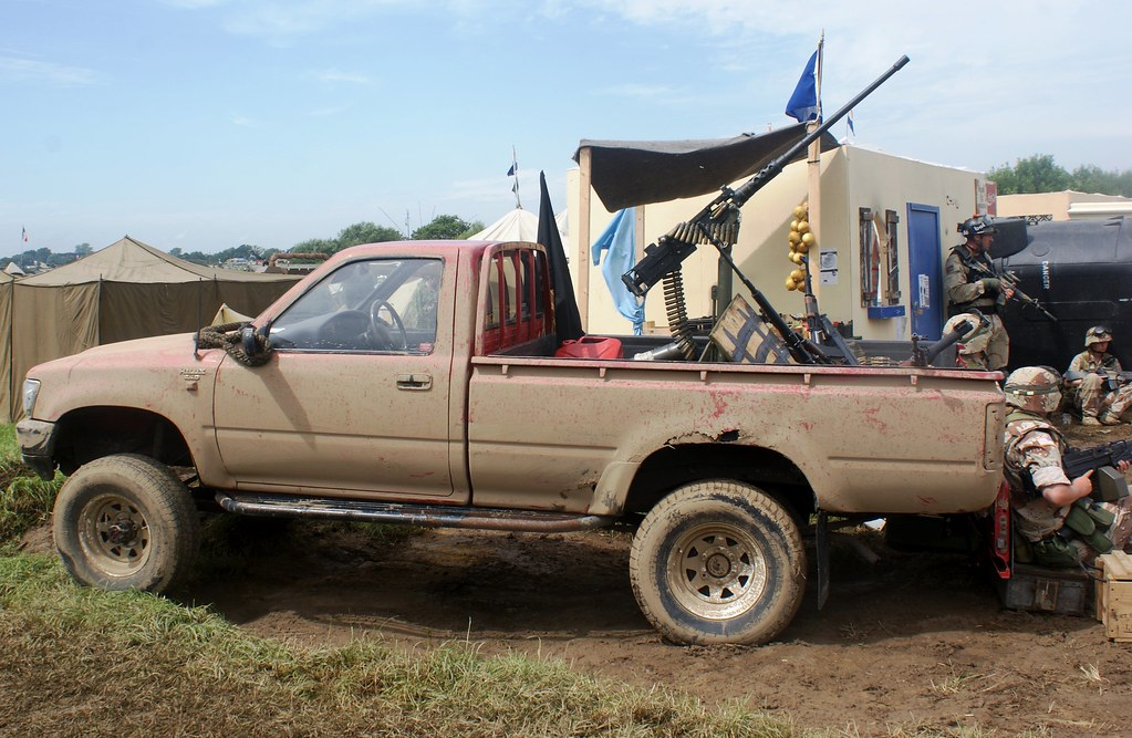 Toyota Hilux Technical War Amp Peace Show 2014 Flickr