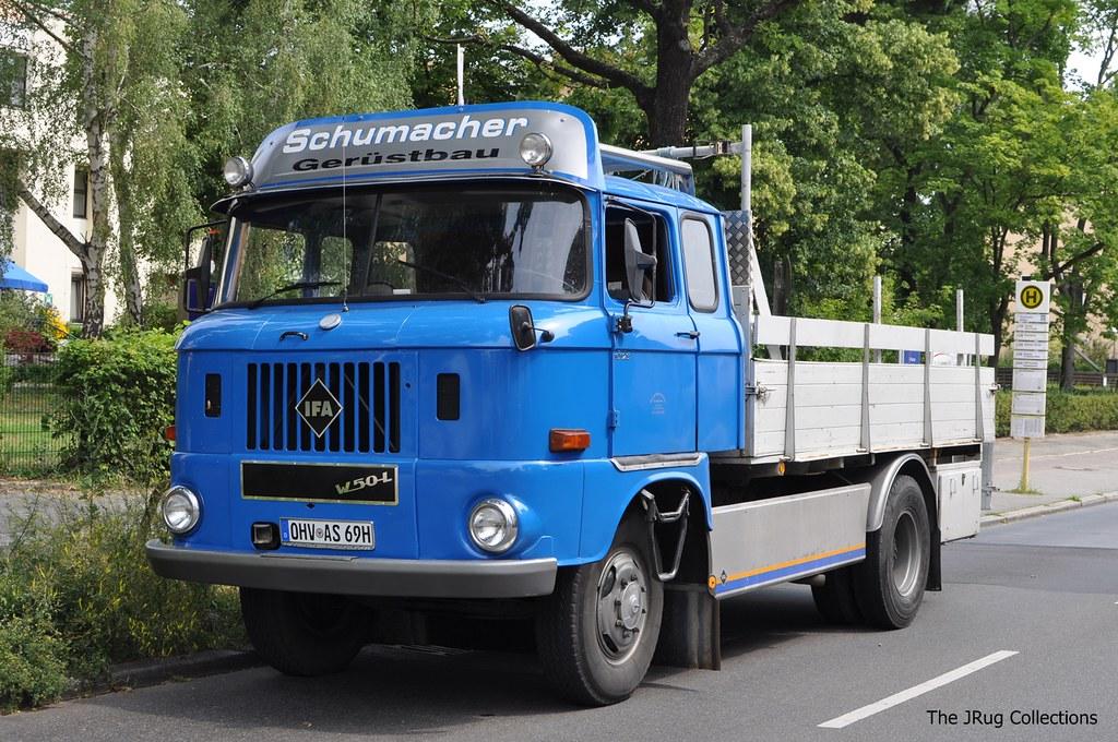 Ifa Truck Pics Hd: IFA W50-L - SCHUMACHER - D