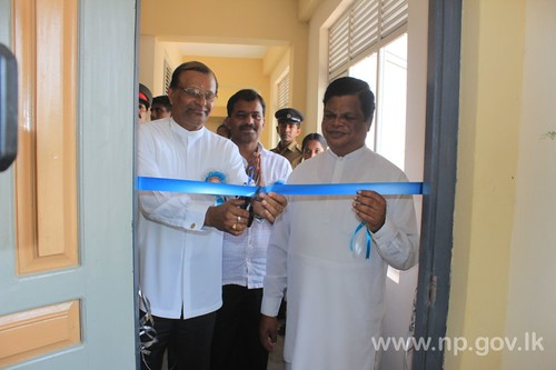 Mahindodaya Labouratory & 3 storey building declared open at Kilinochchi Muruganantha College – 27 July 2014