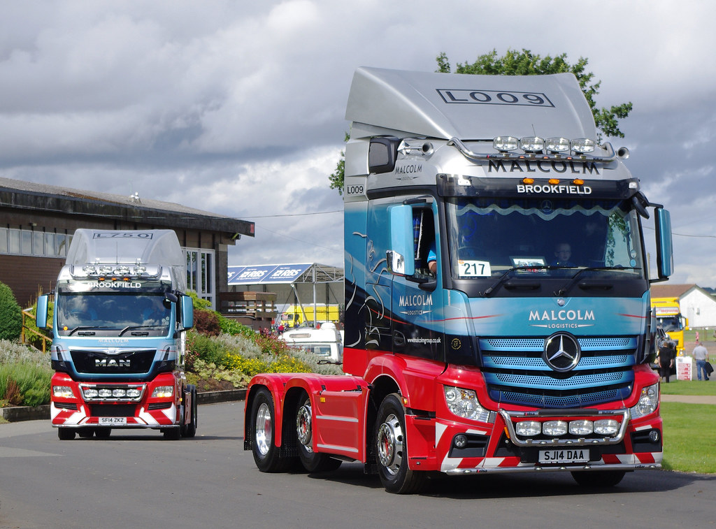 WH Malcolm SJ14DAA at Truckfest Scotland 2014 | Truckfest Sc… | Flickr