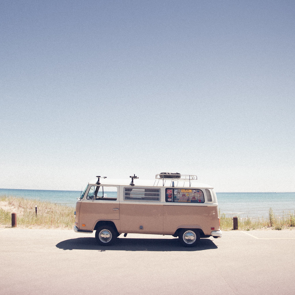 'The VW Bus', United States, Wisconsin, Point Beach State … | Flickr