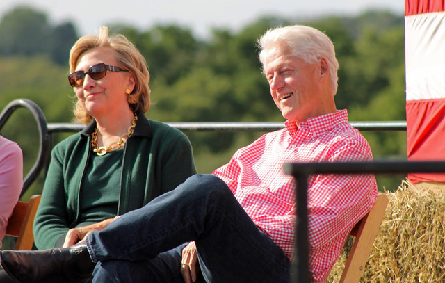 Hillary & Bill Smiles