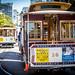 Market St Cable Car San Francisco 2014