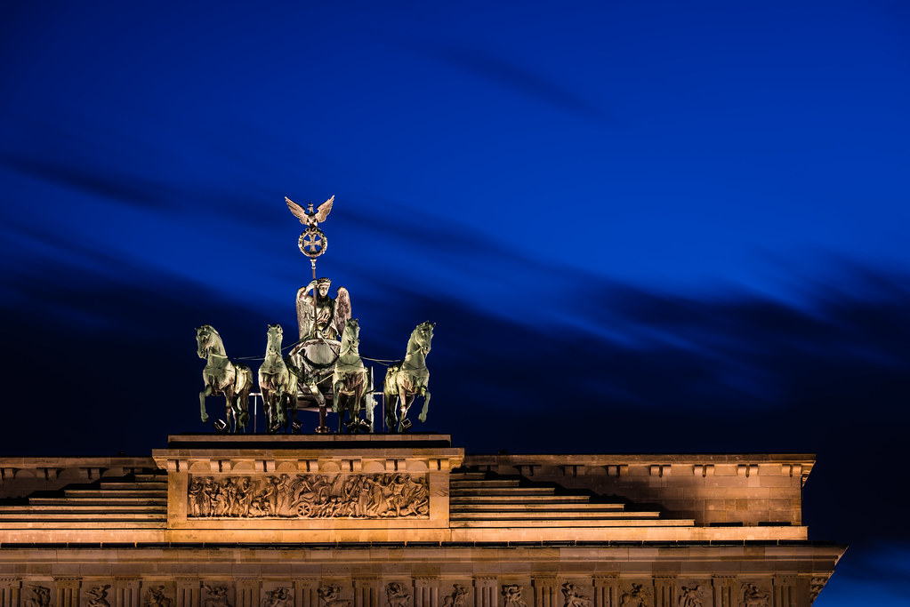 Brandenburg Gate Berlin Photo Brandenburg Gate Quadriga Berlin