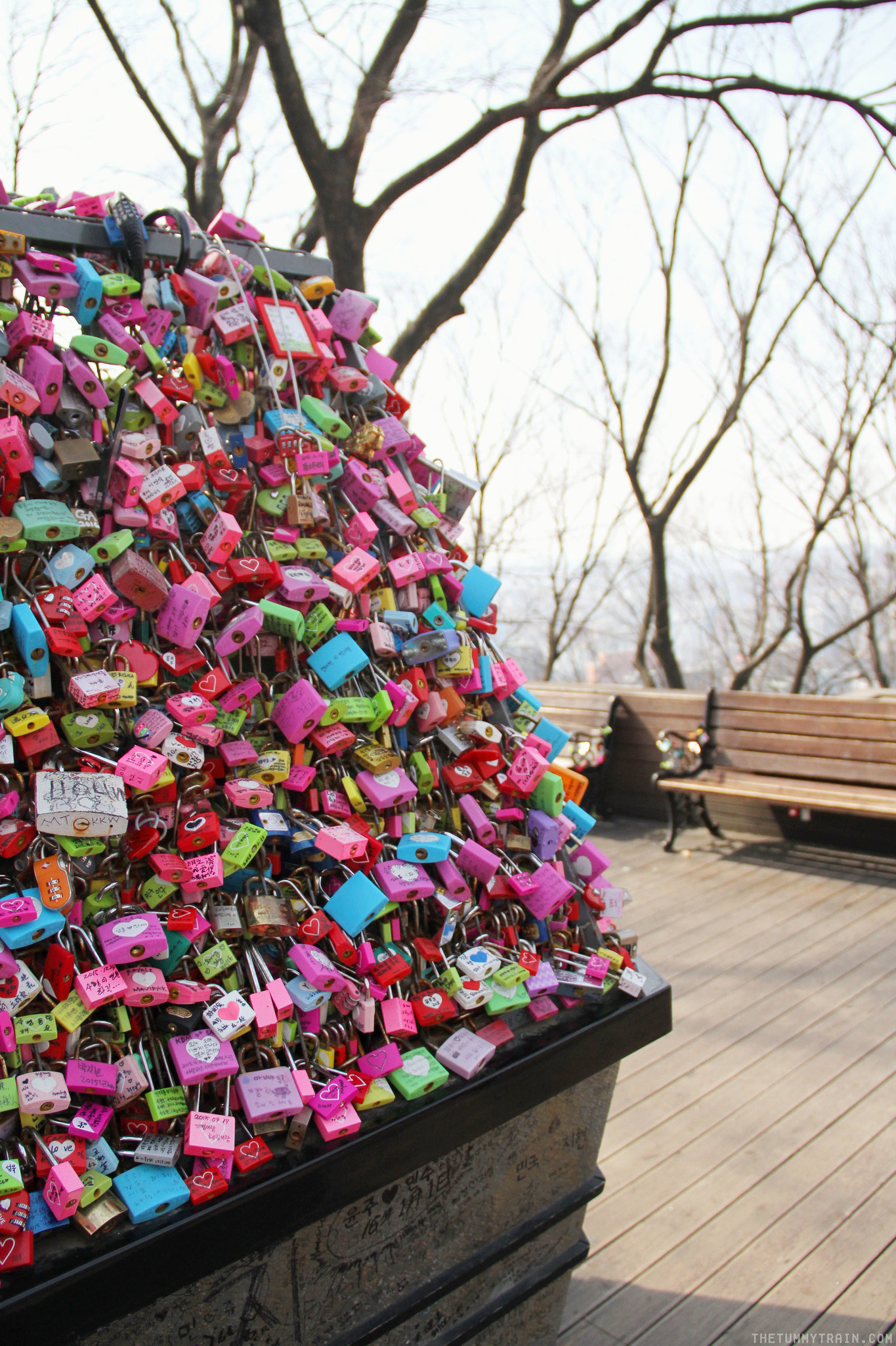 33188230510 6d8e062236 k - Seoul-ful Spring 2016: Playing Lovers in Korea at N Seoul Tower