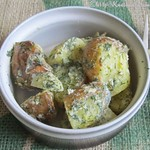 Dillkartoffeln, schwedisch -Dillstuvad Potatis