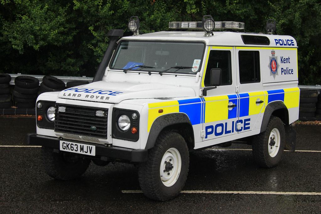 Kent Police Land Rover Defender Power Station Patrol Vehic