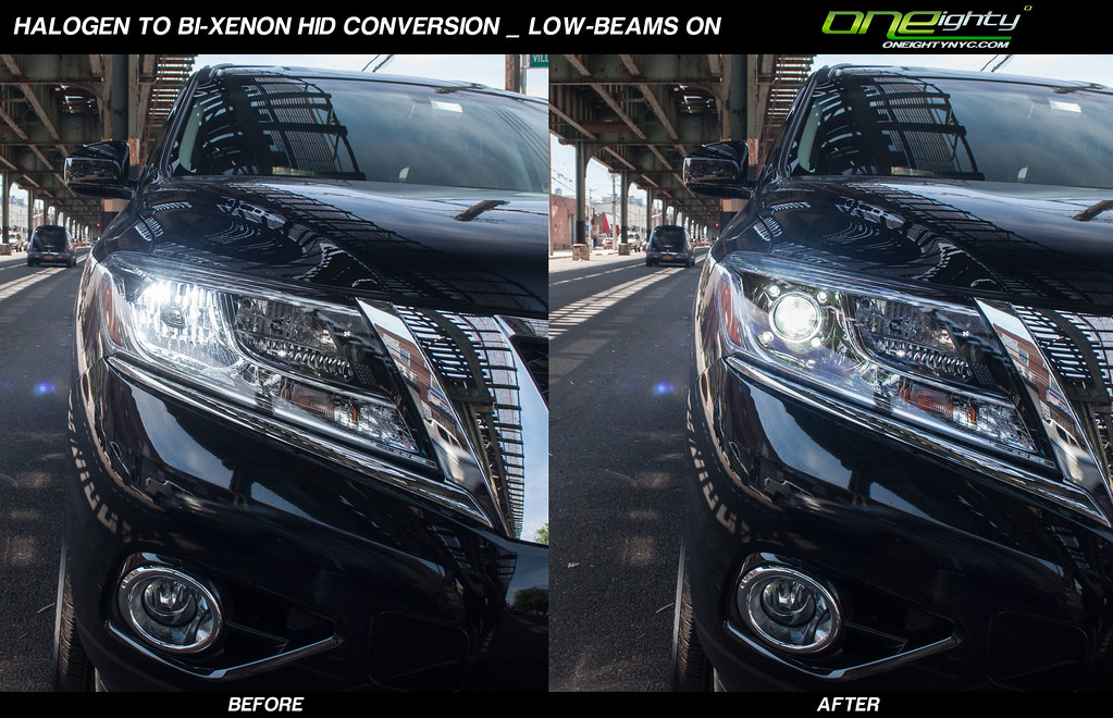 Nissan Pathfinder Custom Headlights 2013 Nissan