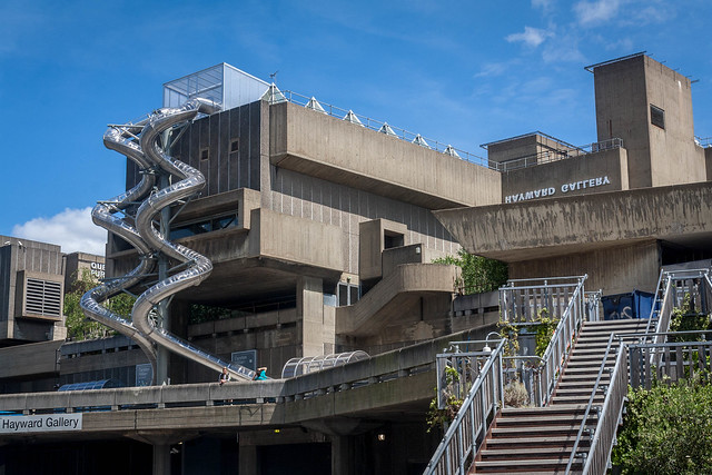 Front of the Hayward Gallery, London