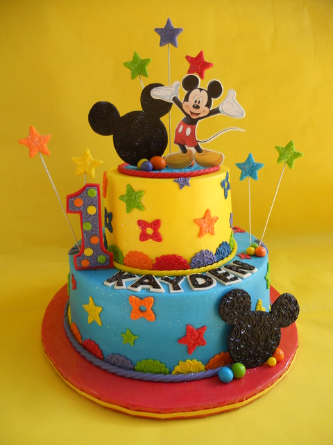 Mickey Mouse Clubhouse Birthday Cake Explore
