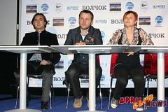 Пресс-конференция фильма «Волчок»
