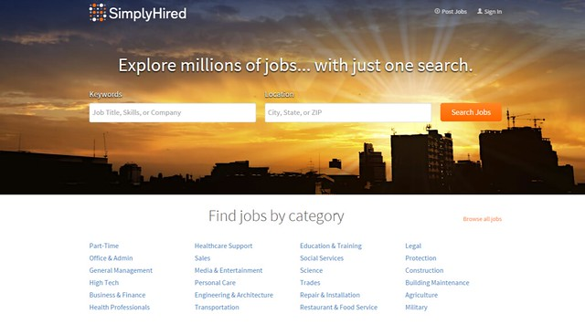 Find Jobs on Simply Hired New Jobs Added Daily
